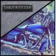 """Prewired"" Chrome ""ABS"" Bagger Bar Complete Handlebar Kit 12"" for 2008-2013 FLH Harley Touring"