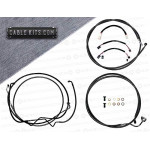Cable Kit with Electrical Complete for  2017-2020 Harley Davidson Touring