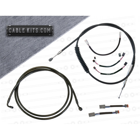 NON ABS Cable Kit with Electrical for 2018-2020 Harley Davidson Softail Low Rider