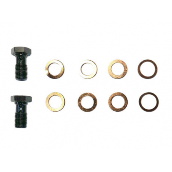 """Midnight Black Hydraulic Cable Kit  for 2014-2016 Harley Davidson Touring Baggers with 14""""-16"""" Bars"""